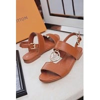 LV Louis Vuitton Women Fashion Casual Sandals Shoes