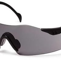 Pyramex Intrepid SB1620S Gray Lens Black Frame Safety Glasses Job Sport Eyewear