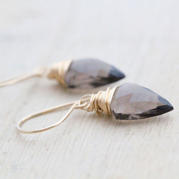 Arrow Drop Earrings  - Multiple Colors Available