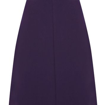 Warehouse Semi a line skirt Purple - House of Fraser