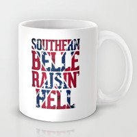 Southern Belle Raisin Hell Mug by RexLambo