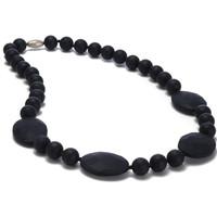 Chewbeads Perry Teething Necklace - Black