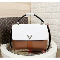 lv louis vuitton newest popular women leather handbag tote crossbody shoulder bag satchel1015 18