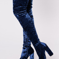 Crush You Boot - Royal Blue