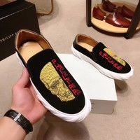 PhiliPP Plein Fashion Men Casual Running Sport Shoes Sneakers Slipper Sandals High Heels Shoes