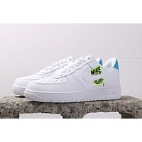Nike Air Force 1'07 AF1 air force embroidery Earth Day
