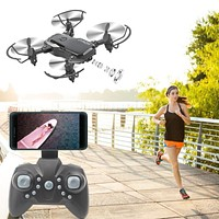 2.4GHz Ninja Stealth 6 Channel Mini RC Drone with 1080P Camera and Mobile Controller