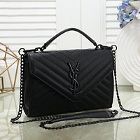 Yves Saint Laurent YSL Classic Hot Sale Lady Chain Shoulder Bag Messenger Bag Shopping Bag Handbag
