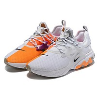 NIKE REACT PRESTO New fashion hook sports leisure couple shoes White