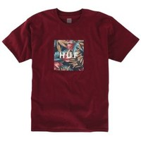 HUF Box Logo Fill Waikiki T-Shirt - Men's at CCS