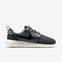 Nike Roshe Run One Winter Women's Aztec Printed Training Shoes Black 685286-001