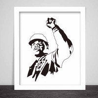 Chance the Rapper Art Poster (3 sizes) // Acid Rap Sox Family matters 10day social experiment chicago sunday candy