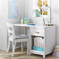 Rowan 1-Drawer Single Pedestal Desk