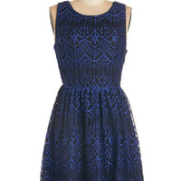 ModCloth Mid-length Sleeveless A-line Chic Congratulations Dress