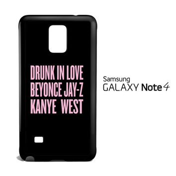 BEYONCE SONG V1815 Samsung Galaxy Note 4 Case