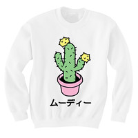 PRE-ORDER MOODY CACTUS SWEATER