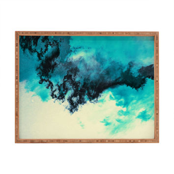 Caleb Troy Painted Clouds V Rectangular Tray