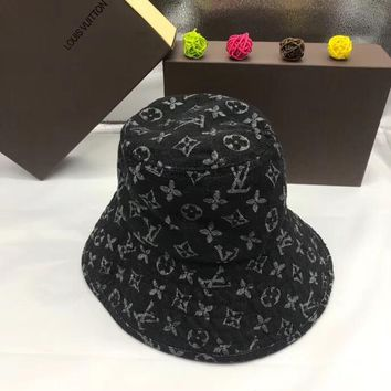 Louis Vuitton LV Monogram Denim Bucket Hat