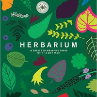 Herbarium: Gift Wrapping Paper Book: 10 Sheets of Wrapping Paper with 12 Gift Tags