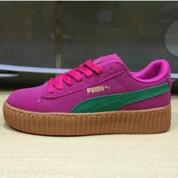 ROSE PUMA Thick and comfortable sneakers