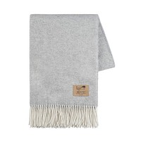 Light Gray Juno Cashmere Throw