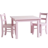 My First Play Table & Chairs, Petal Pink