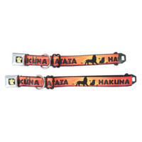 Disney The Lion King Hakuna Matata Pet Collar