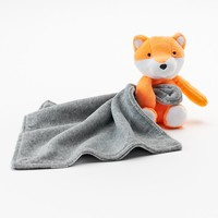 Carter's Plush Fox Security Blanket (Orange)