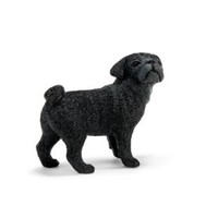 Schleich Female Pug Toy Figure