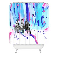 Ceren Kilic These Are My Glory Days Shower Curtain
