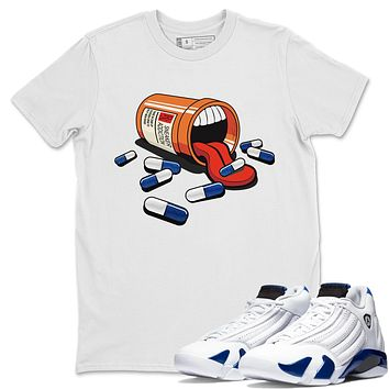 Sneaker Addiction T Shirt - Air Jordan 14 Hyper Royal