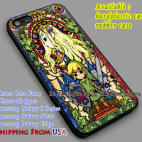 Zelda Stained Glass iPhone 6s 6 6s+ 6plus Cases Samsung Galaxy s5 s6 Edge+ NOTE 5 4 3 #cartoon #animE #TheLegendOfZelda #game dl5