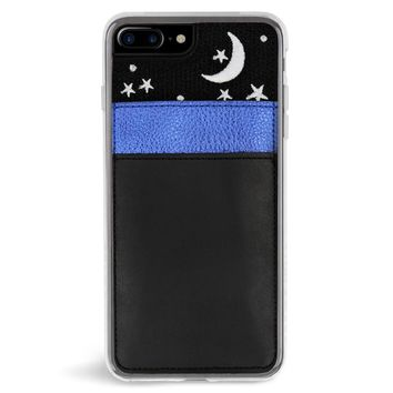 Nightsky Pocket Embroidered iPhone 7/8 Plus Case