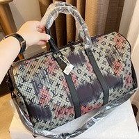 LV 2020 new large capacity travel bag handbag crossbody bag