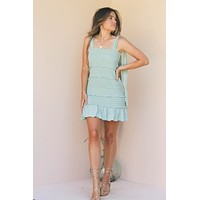 MICA SMOCKED DRESS