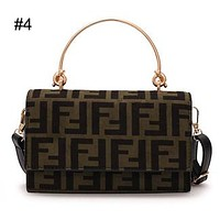 FENDI Tide brand autumn and winter new women's fashion handbags Messenger bag wild retro shoulder bag #4