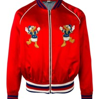 Indie Designs Donald Duck Embroidered Bomber Jacket