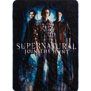 Supernatural Trio Throw Blanket
