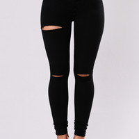 Cevil Jeans - Black