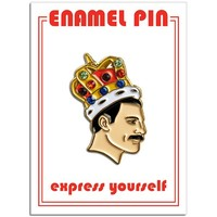 THE FOUND PIN - FREDDIE MERCURY