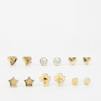 Urban Outfitters - Tiny Little Stud Earring Set