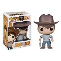 The Walking Dead Carl Grimes Pop! Vinyl Figure - Funko - Walking Dead - Pop! Vinyl Figures at Entertainment Earth