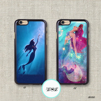 Resin The little mermaid iPhone 6 case ariel iPhone 5S case iPhone 5c 4S Disney iPhone 6 plus Samsung Galaxy S3 S4 S5, Note 2/ 3 - S0050