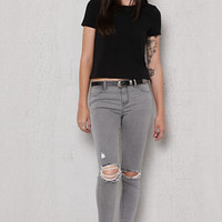 PacSun Naaz Ripped Dreamy Ankle Jeggings at PacSun.com