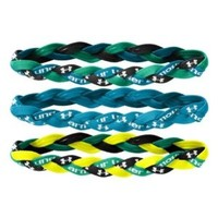 Under Armour Women's UA Braided Mini Headbands - 3pk One Size Fits All Black