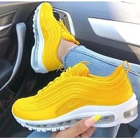 NIKE AIR MAX 97 Classic Fashion Woman Men Sneakers Sport Shoes