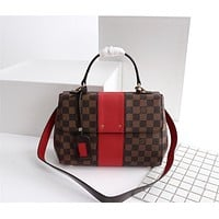 LV Louis Vuitton DAMIER CANVAS Cluny HANDBAG INCLINED SHOULDER BAG