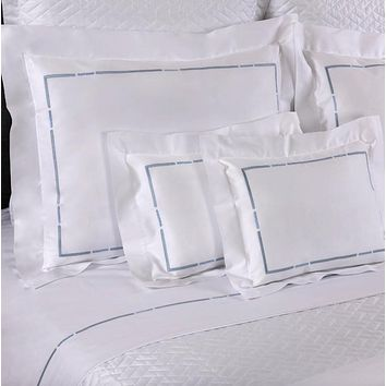 Striè Embroidery Bedding by Dea Linens