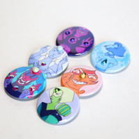 Steven Universe Gem Fusions Pin back Buttons