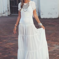 SOMBRERO MAXI DRESS | For Love & Lemons